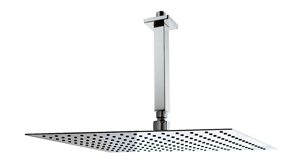 Parisi Quadro Turbo 300mm Square Super Slim Shower Head