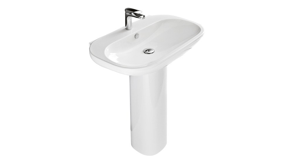 Parisi ABC White Pedestal Basin