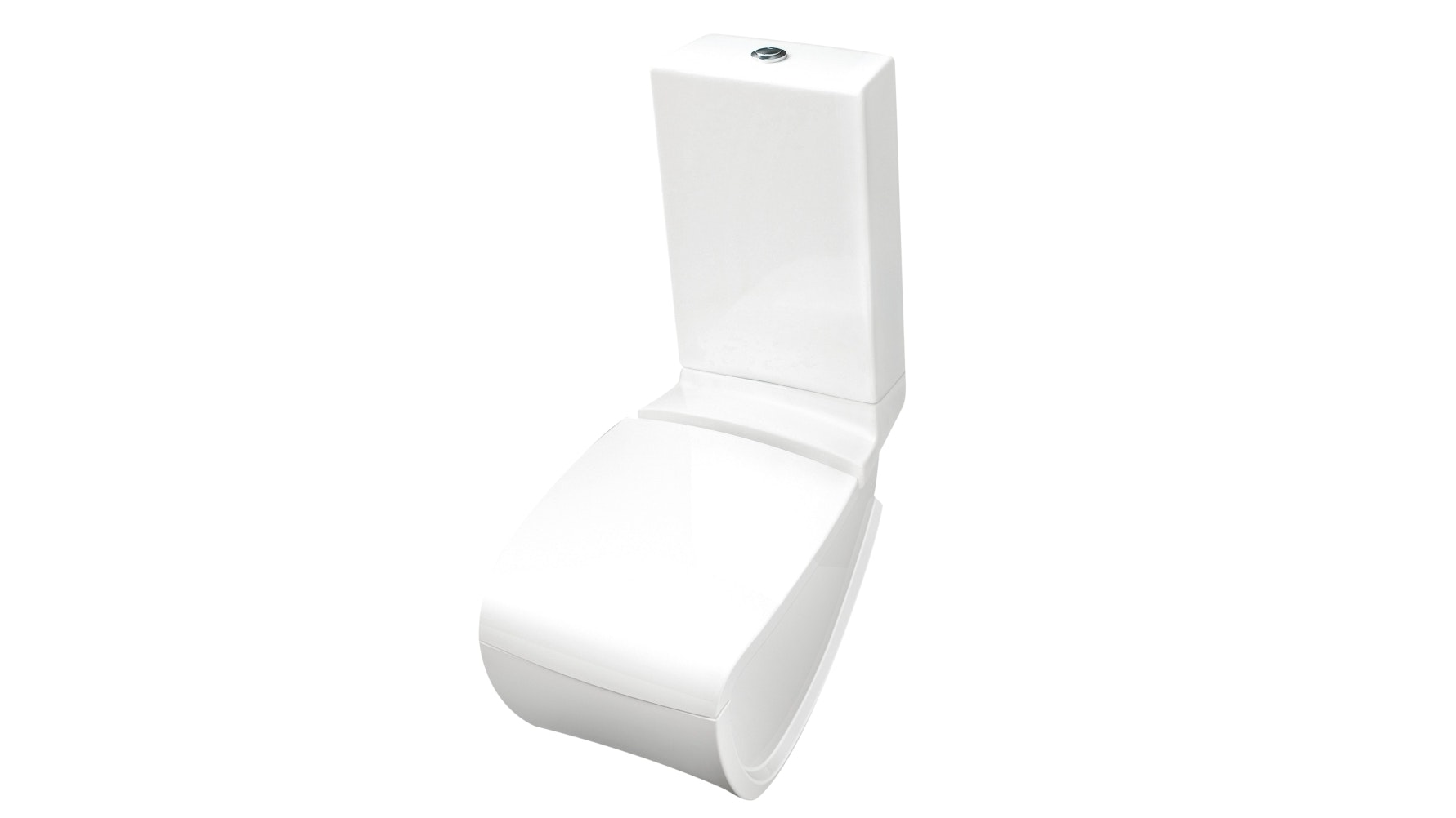 Parisi Hi Line Back-To-Wall Toilet Suite