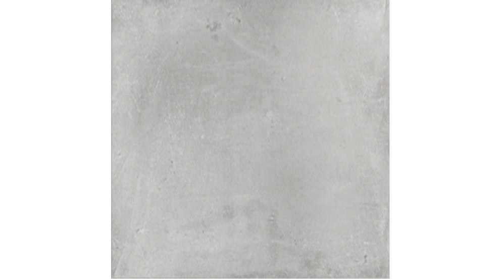 Cementina 600x600mm Light Grey Matte Glazed Porcelain Rectified Tile