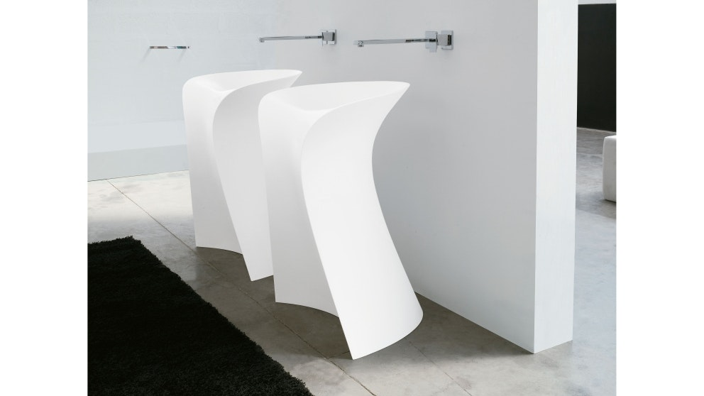Parisi Miss Freestanding White Living-Tec Basin (Each)