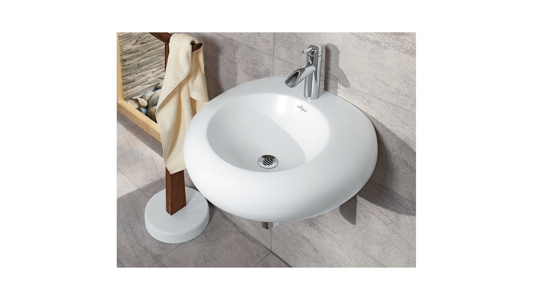 Villeroy & Boch Pure Stone 605 Above Counter Basin