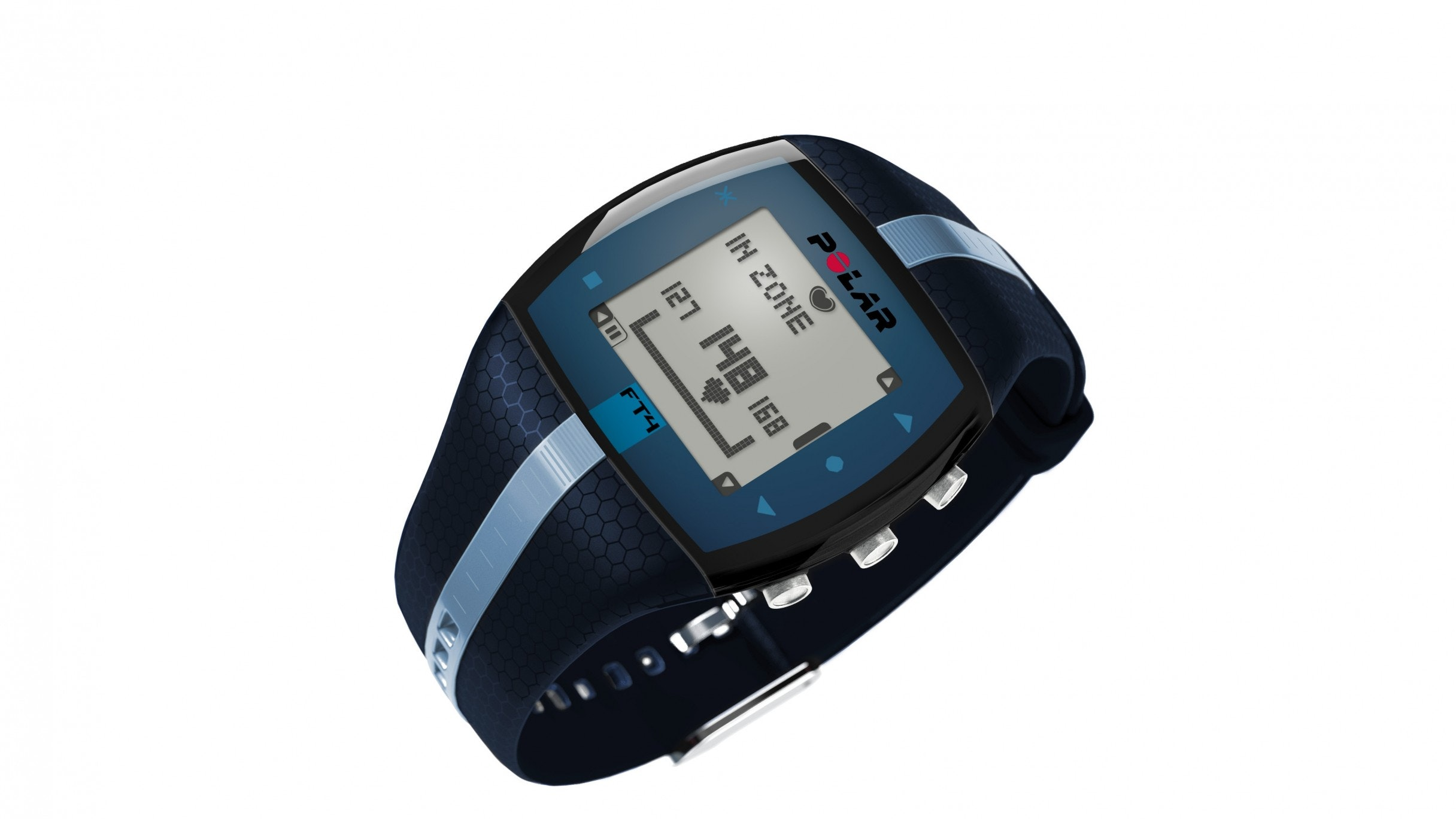 Polar FT4 Heart Rate Monitor - Blue