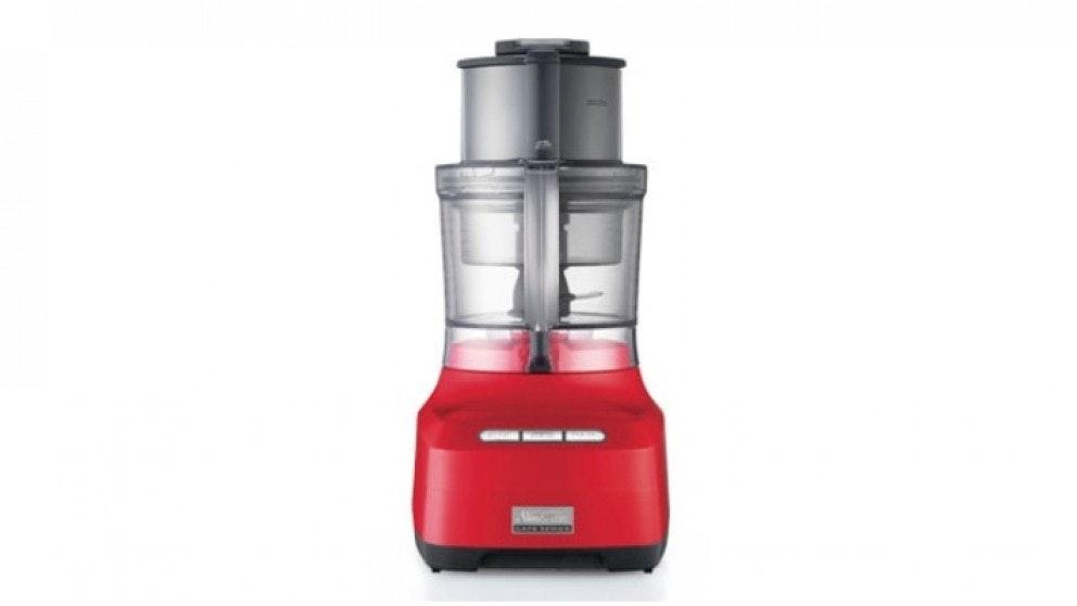 Sunbeam Cafe Series Food Processor - Red