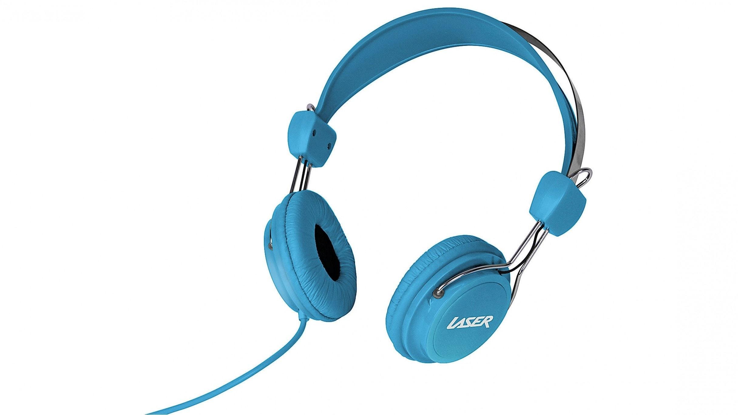 Laser Headphones - Blue