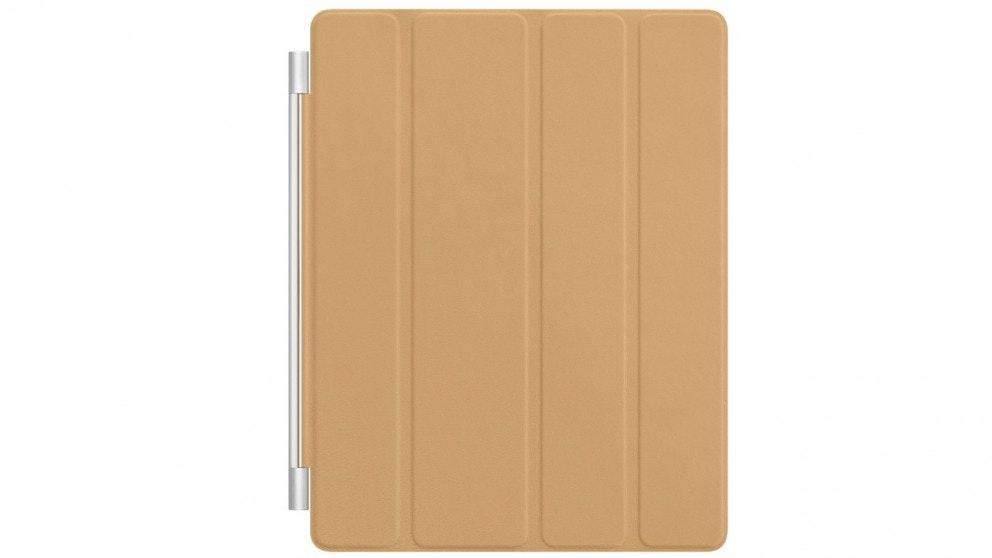 Apple iPad Leather Smart Cover - Tan