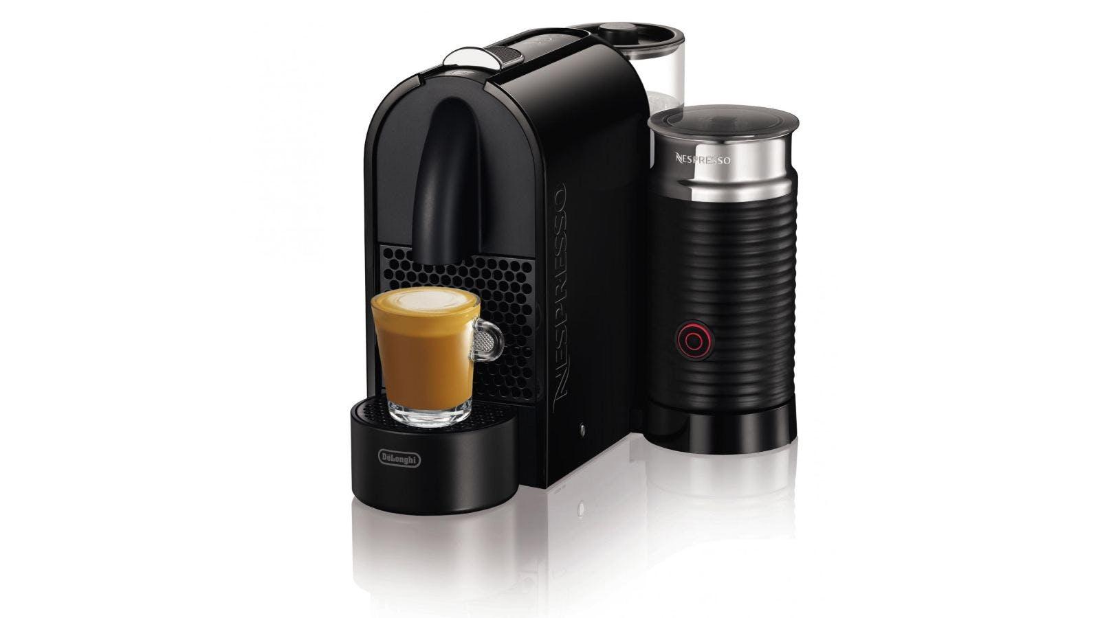 Nespresso U Machine Nespresso U Milk Coffee Machine Black Domayne