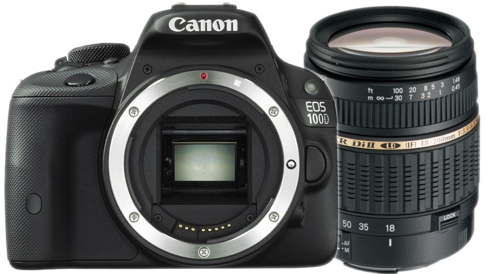 Canon EOS 100D DSLR Camera Package