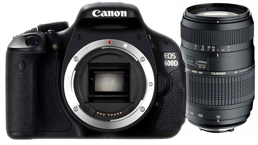 Canon EOS 600D DSLR Camera Package