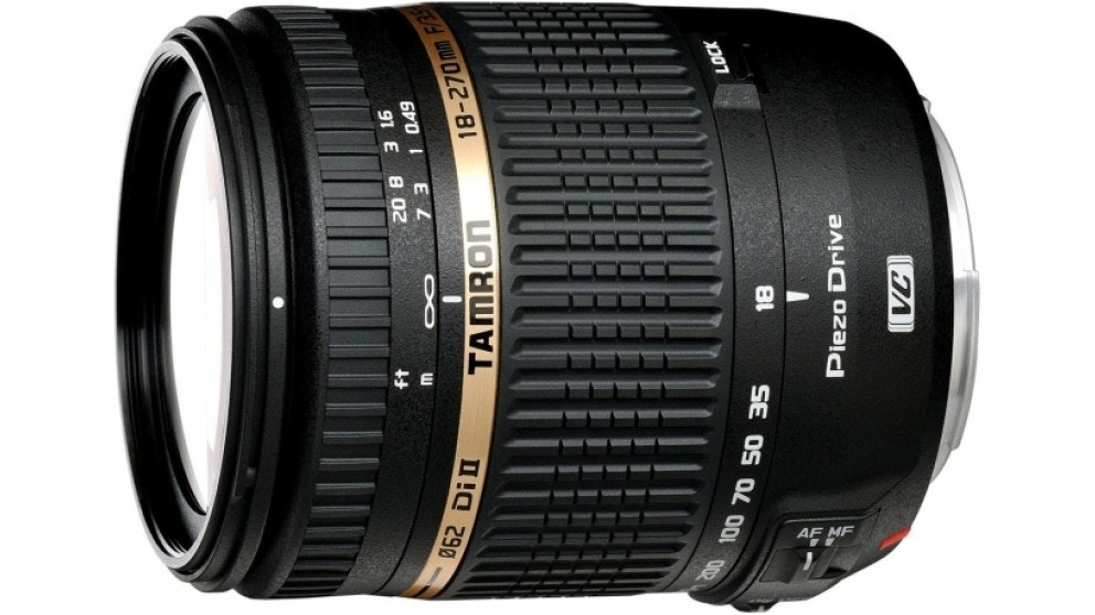 Tamron 18-270mm f/3.5-6.3 Di II VC PZD Lens Canon Mount
