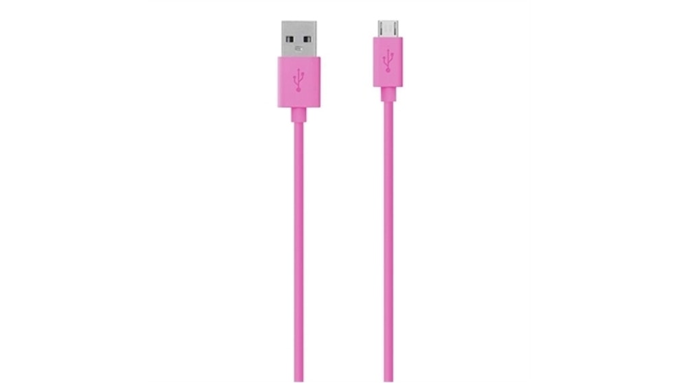 Belkin Micro USB Charge Sync Cable - 1.2m Pink