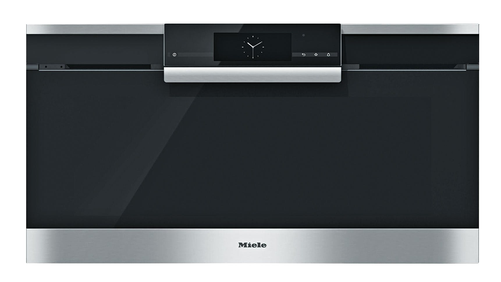 miele h6890bp pyrolytic oven 90cm domayne. Black Bedroom Furniture Sets. Home Design Ideas