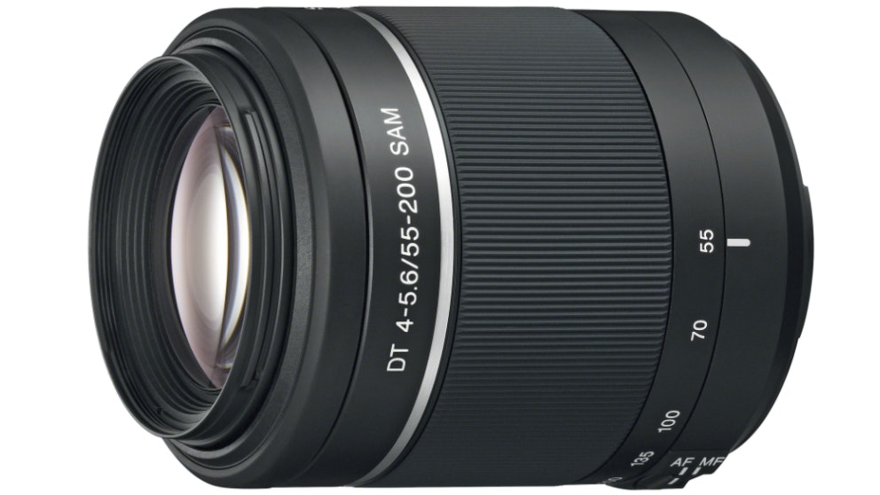 Sony SAL552002 DT 55 - 200mm F4 - 5.6 A-Mount Lens