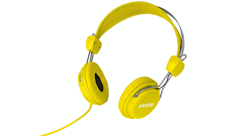 Laser Headphones - Yellow
