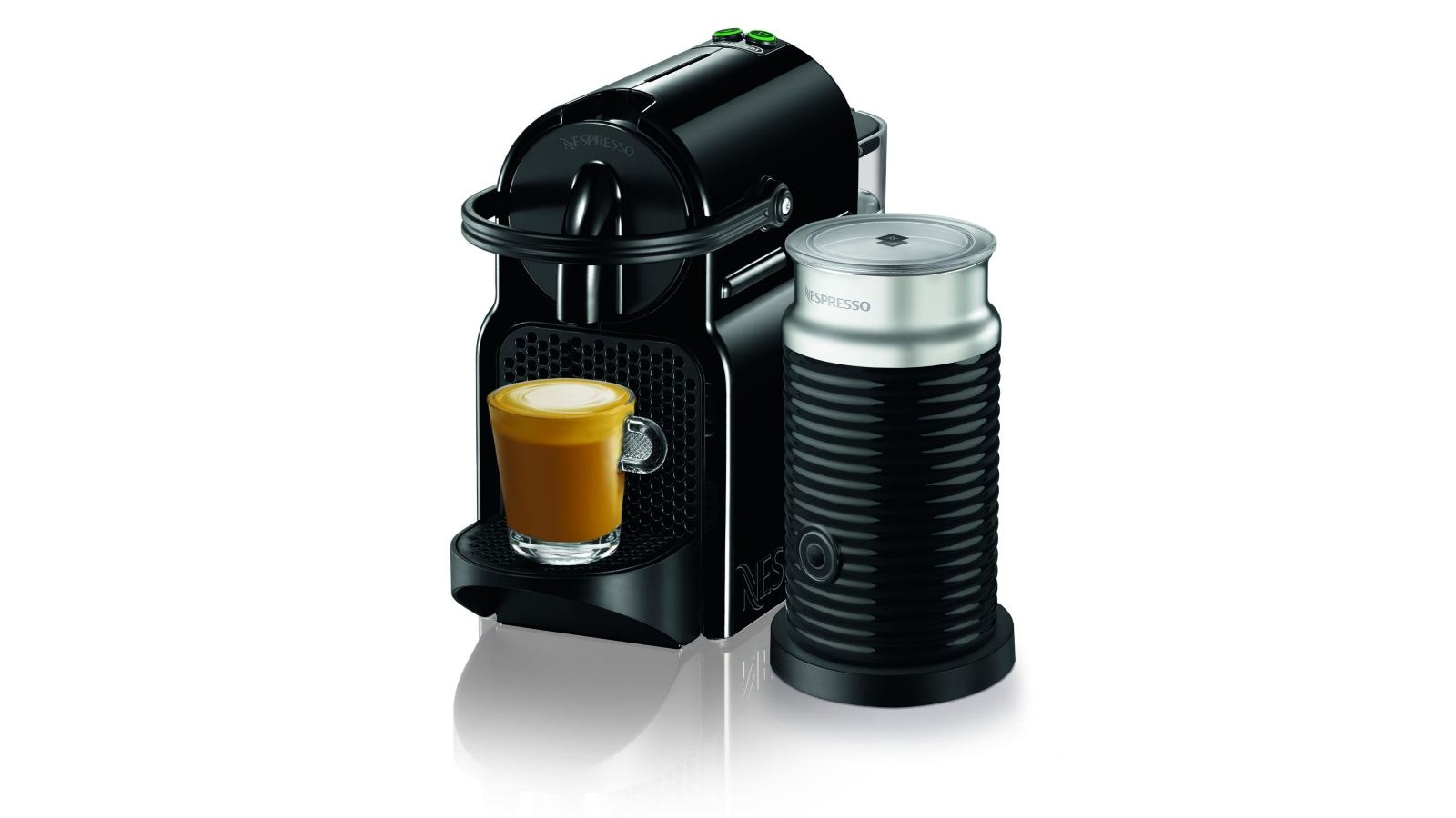 DeLonghi Nespresso Inissia Coffee Machine - Black