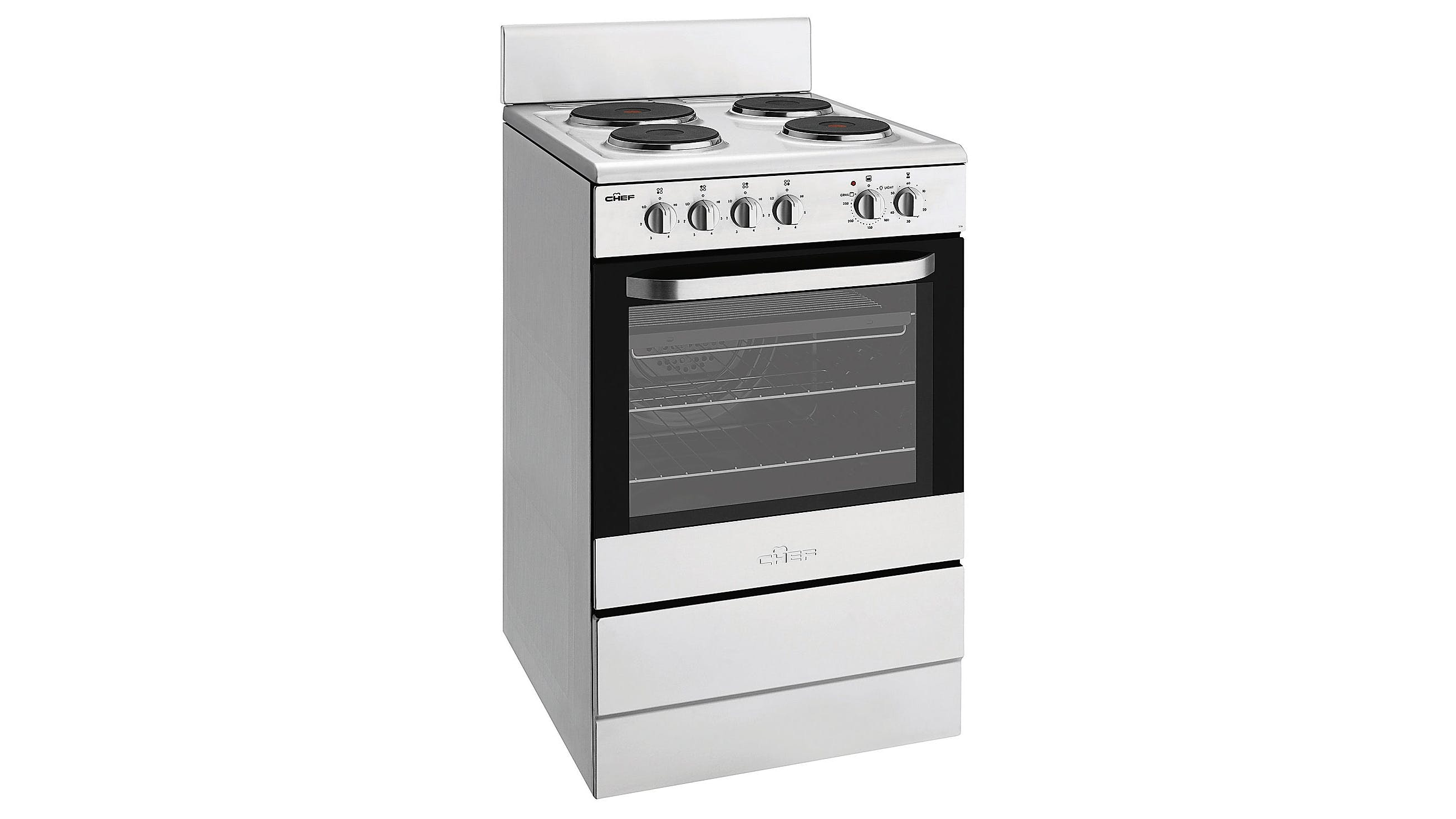 Uncategorized Domayne Kitchen Appliances chef 54cm freestanding electric cooker with fan forced oven domayne oven