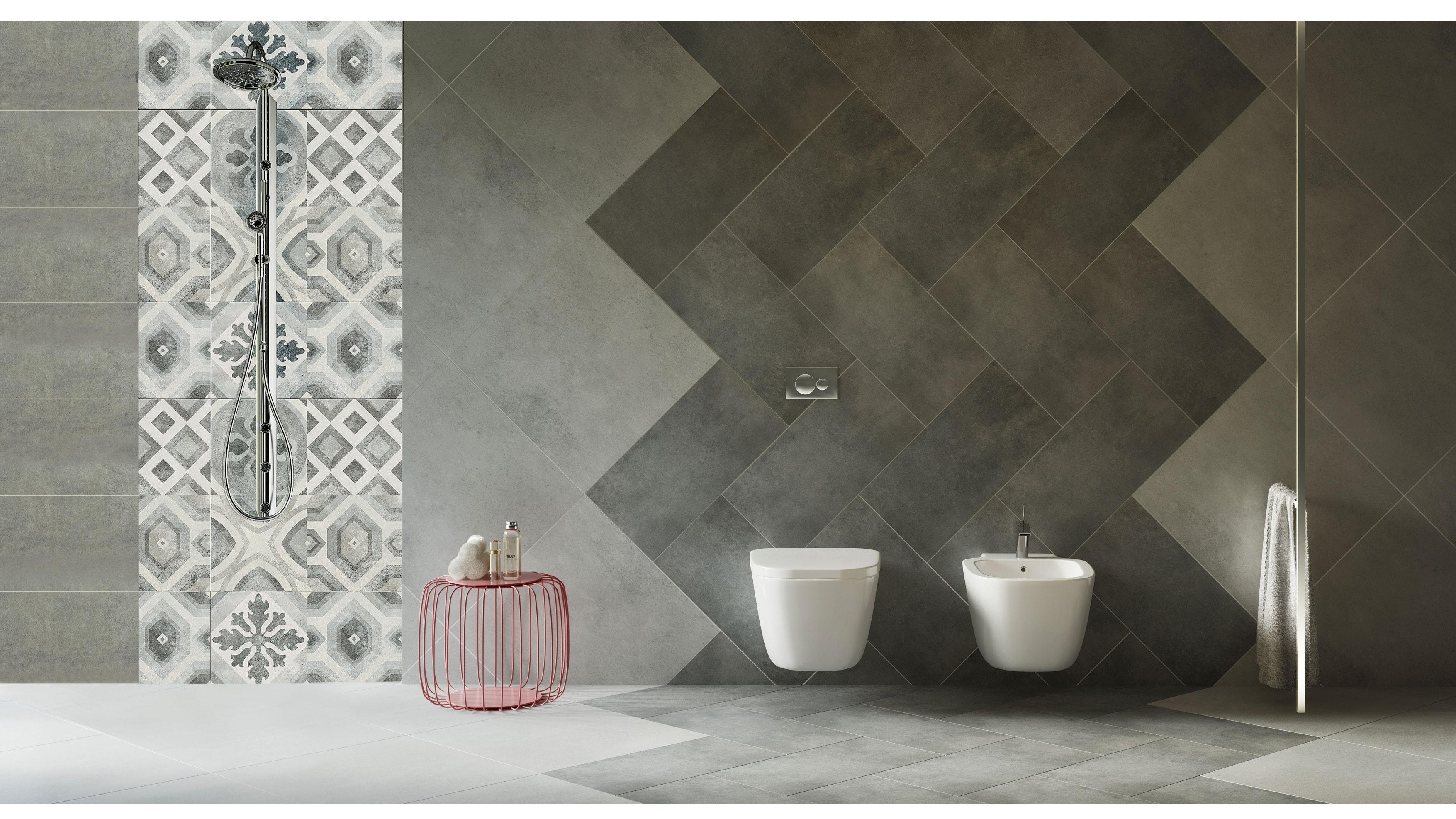 Surface 300x600 Ash Lappato Finish Glazed Porcelain Wall