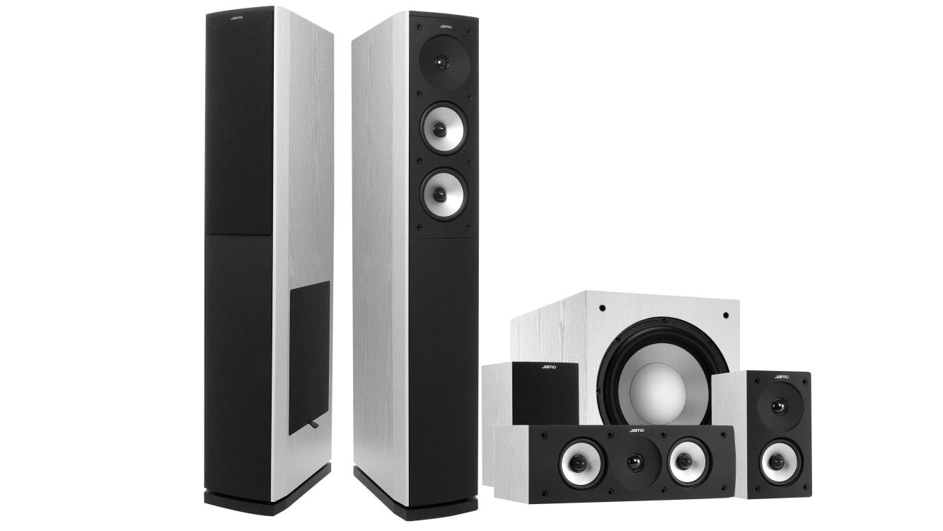 Jamo S626HCS10 5.1 Home Theatre Speaker System - White