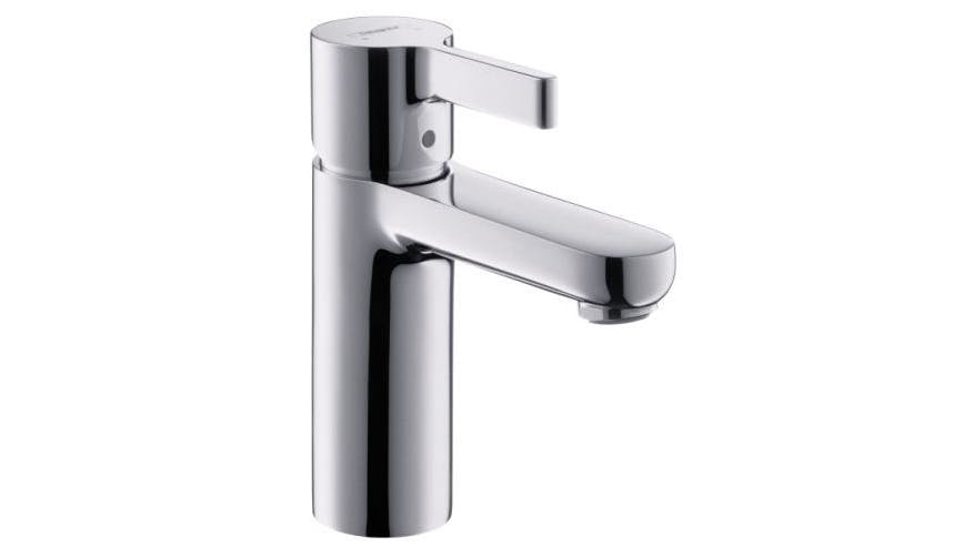 hansgrohe metris s basin mixer domayne. Black Bedroom Furniture Sets. Home Design Ideas
