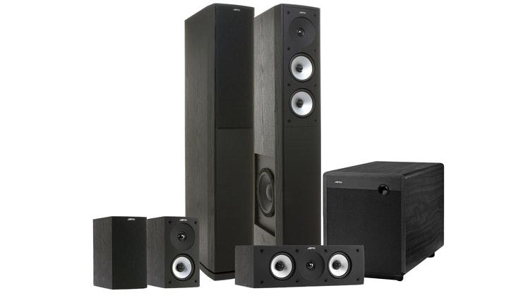 Jamo S626HCS10 5.1 Home Theatre Speaker System - Black