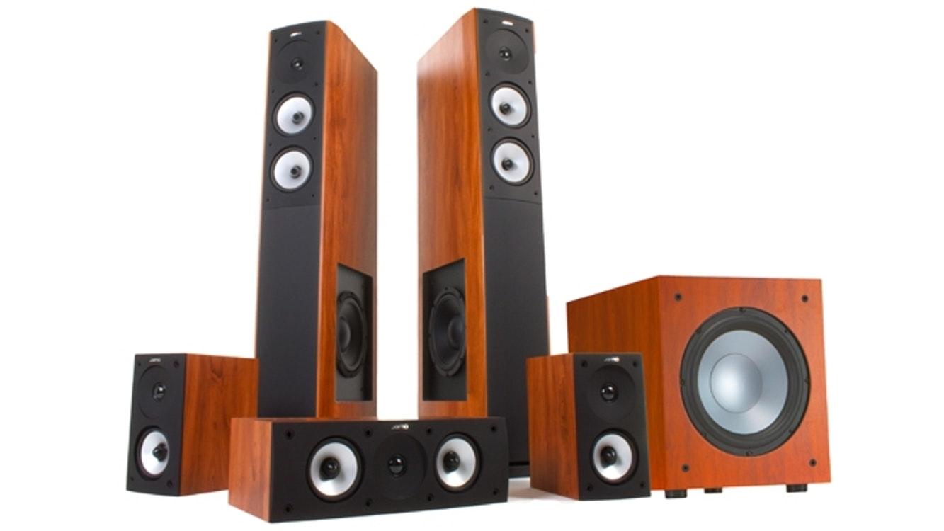 Jamo S626HCS10 5.1 Home Theatre Speaker System - Dark Apple