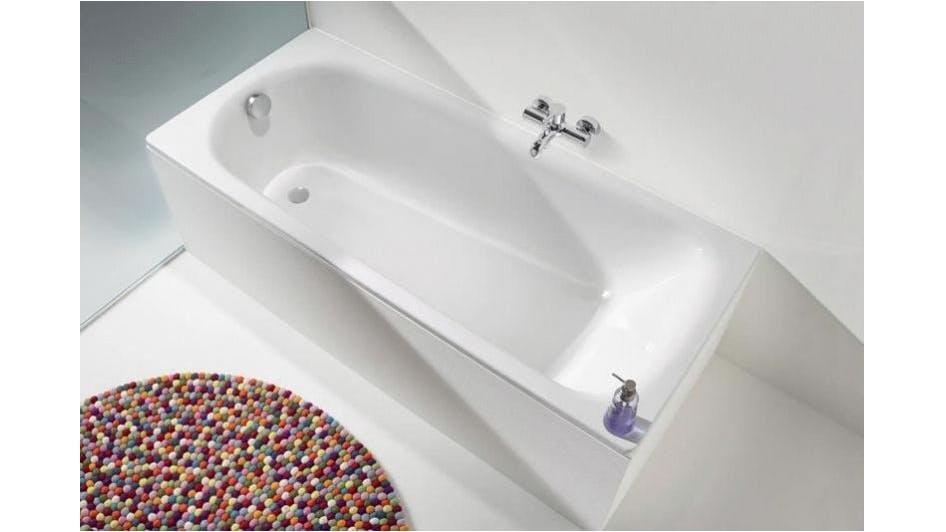 kaldewei saniform plus bath including overflow domayne. Black Bedroom Furniture Sets. Home Design Ideas