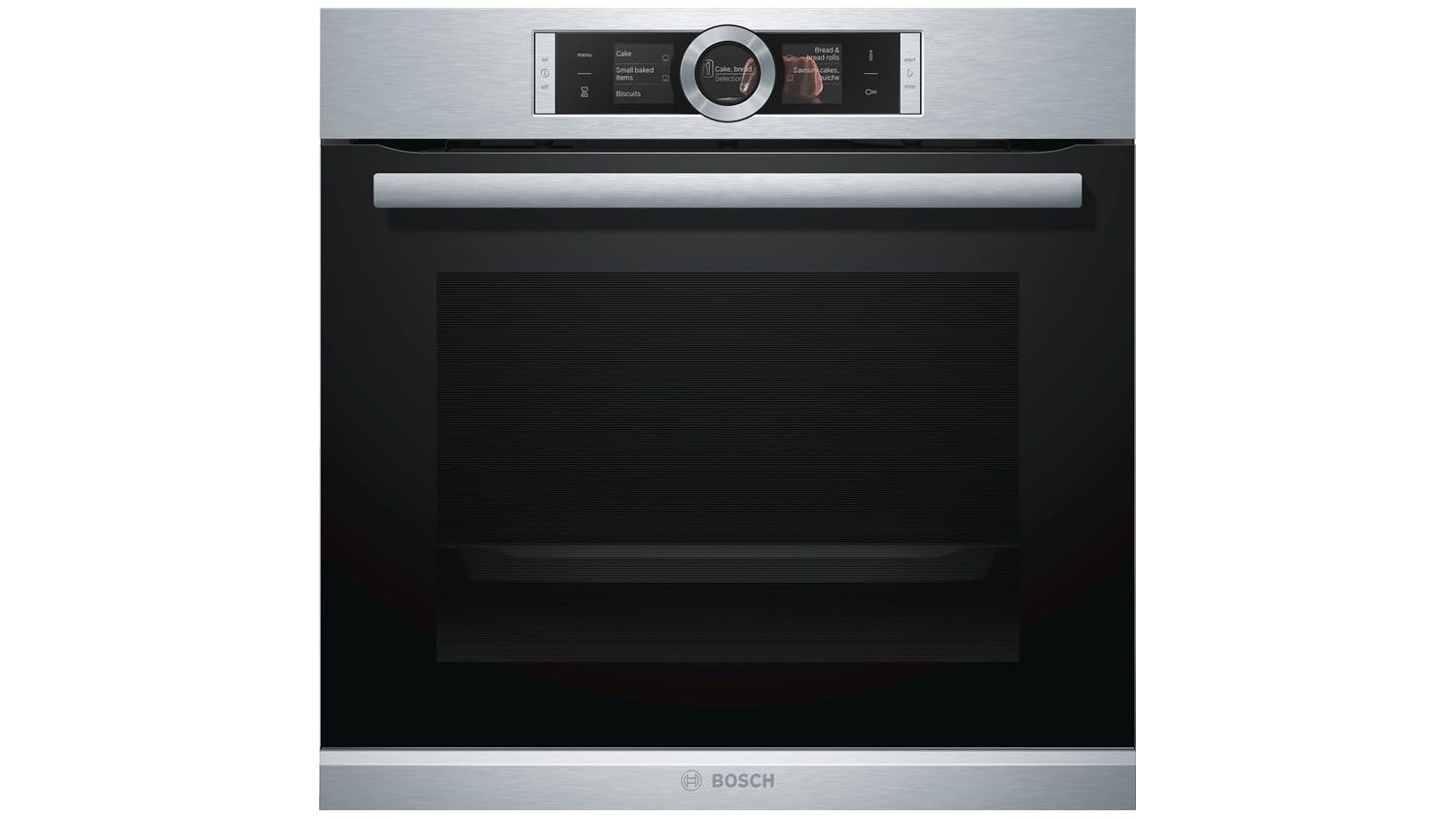 bosch 60cm series 8 hbg6767s1a built in pyrolytic oven. Black Bedroom Furniture Sets. Home Design Ideas