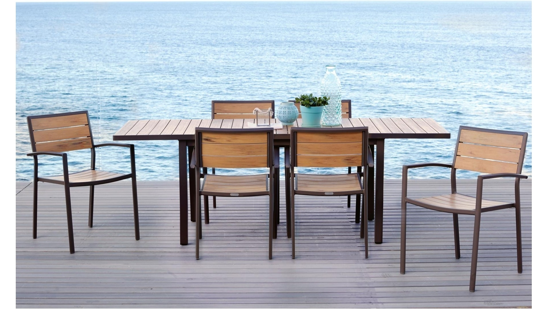 Capri Extension Dining Table Natural