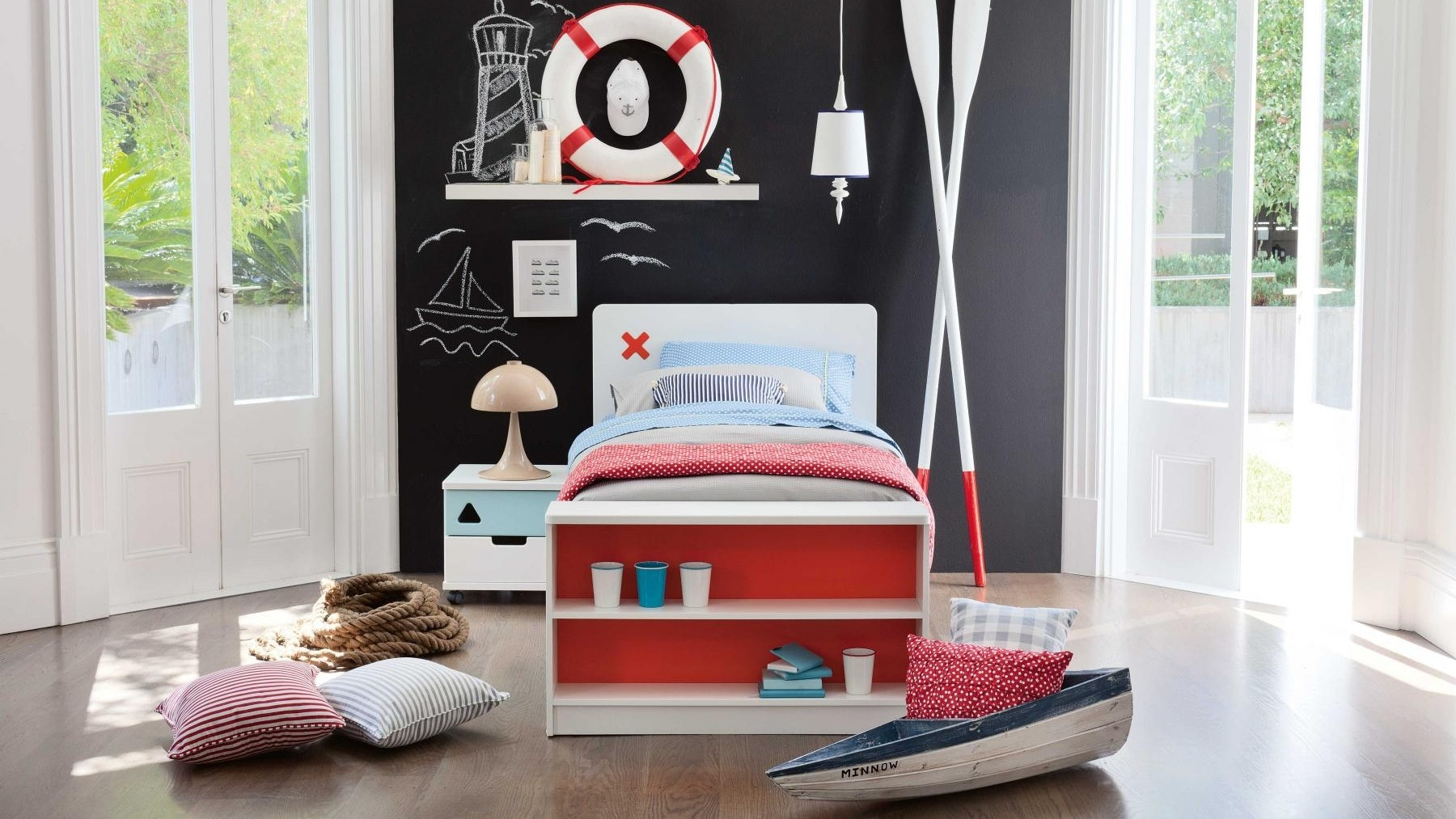 Junior Options Bed Frame with Bookcase