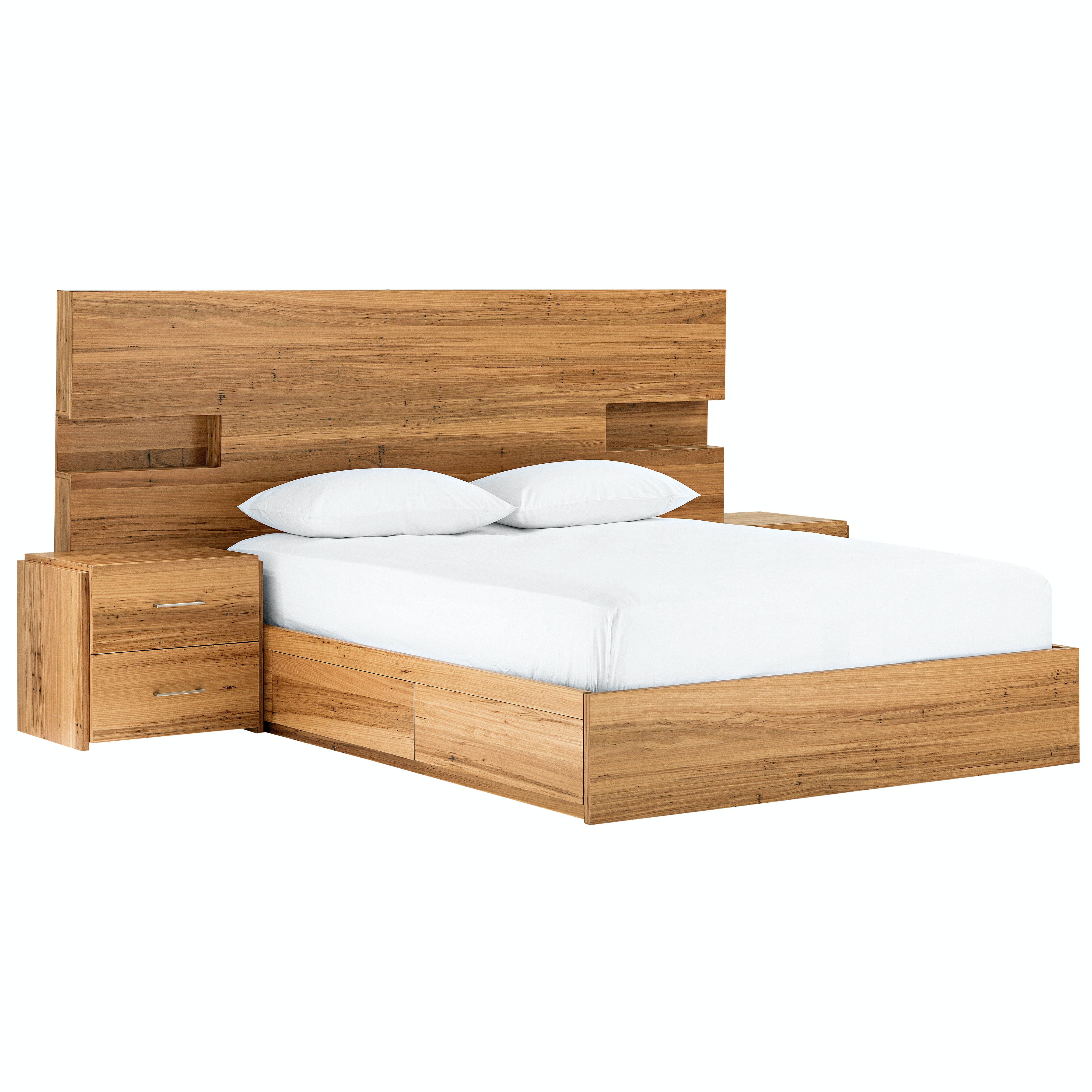 Amelie Bed Base with 4-Drawers