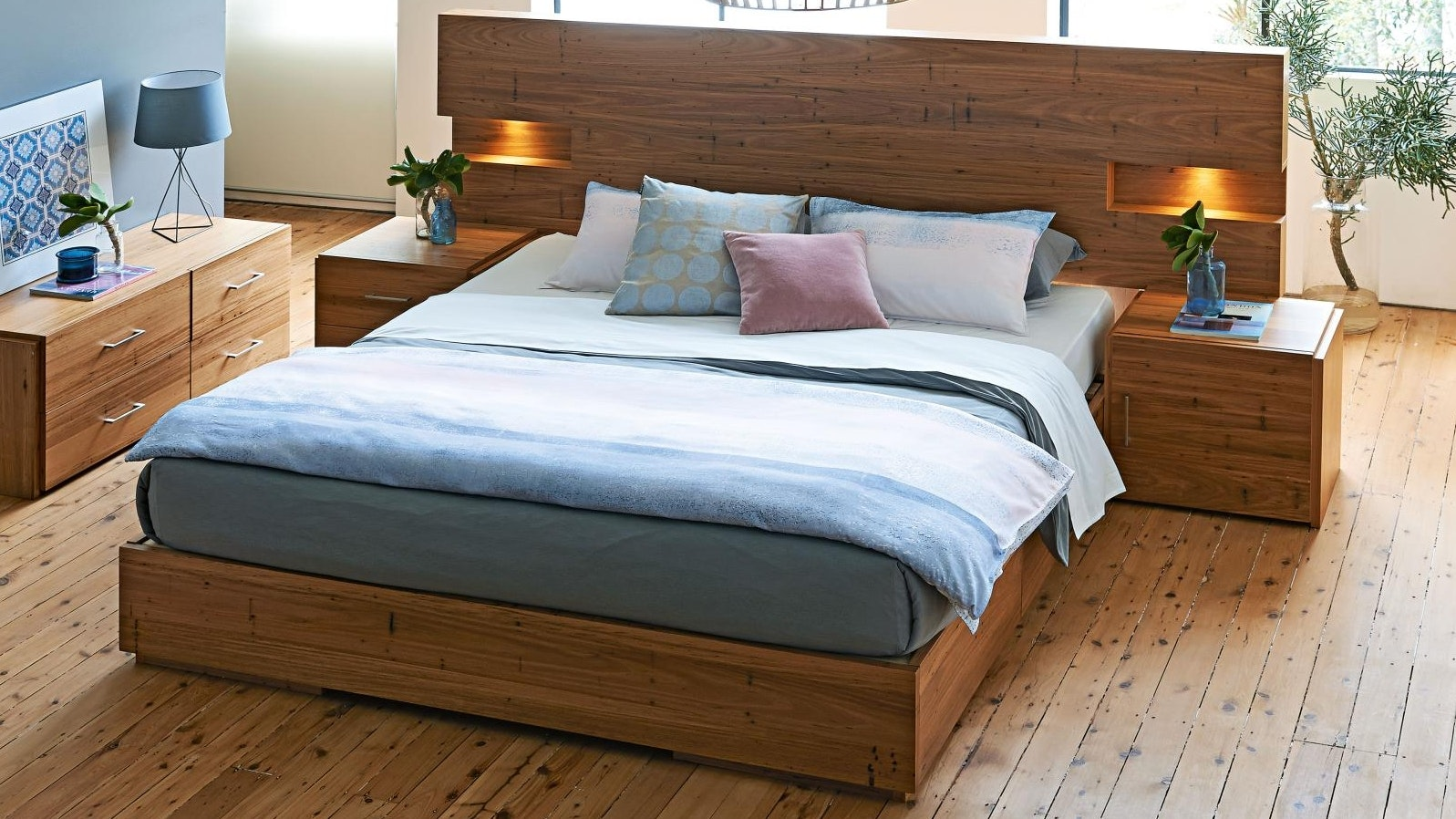 Amelie Bed Base With Slats Domayne