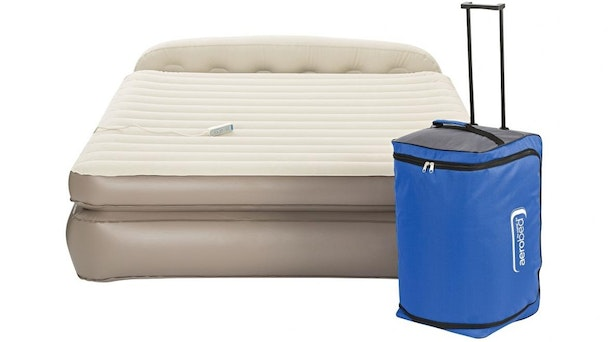 Aerobed Premier Queen Size Memory Foam Inflatable Bed