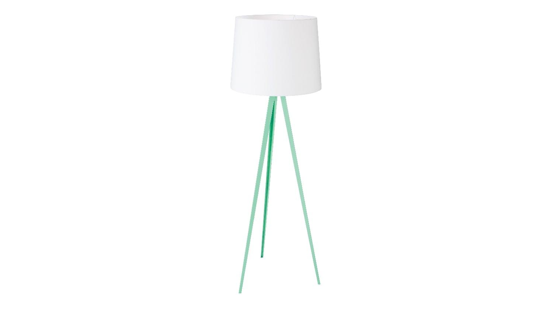 Oslo Floor Lamp - Mint Green   Domayne