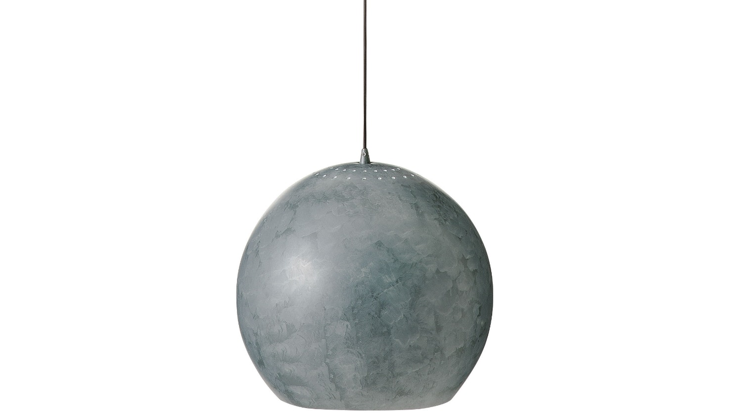 Nordic Dome Large Pendant Light - Grey