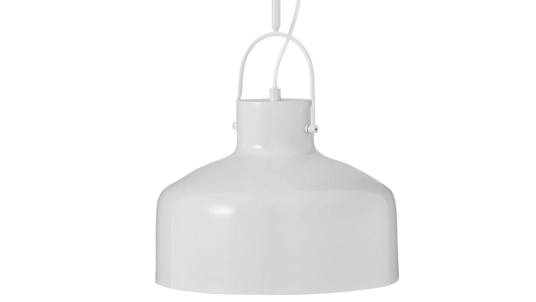 Industrial Matte Pendant - Dove Grey