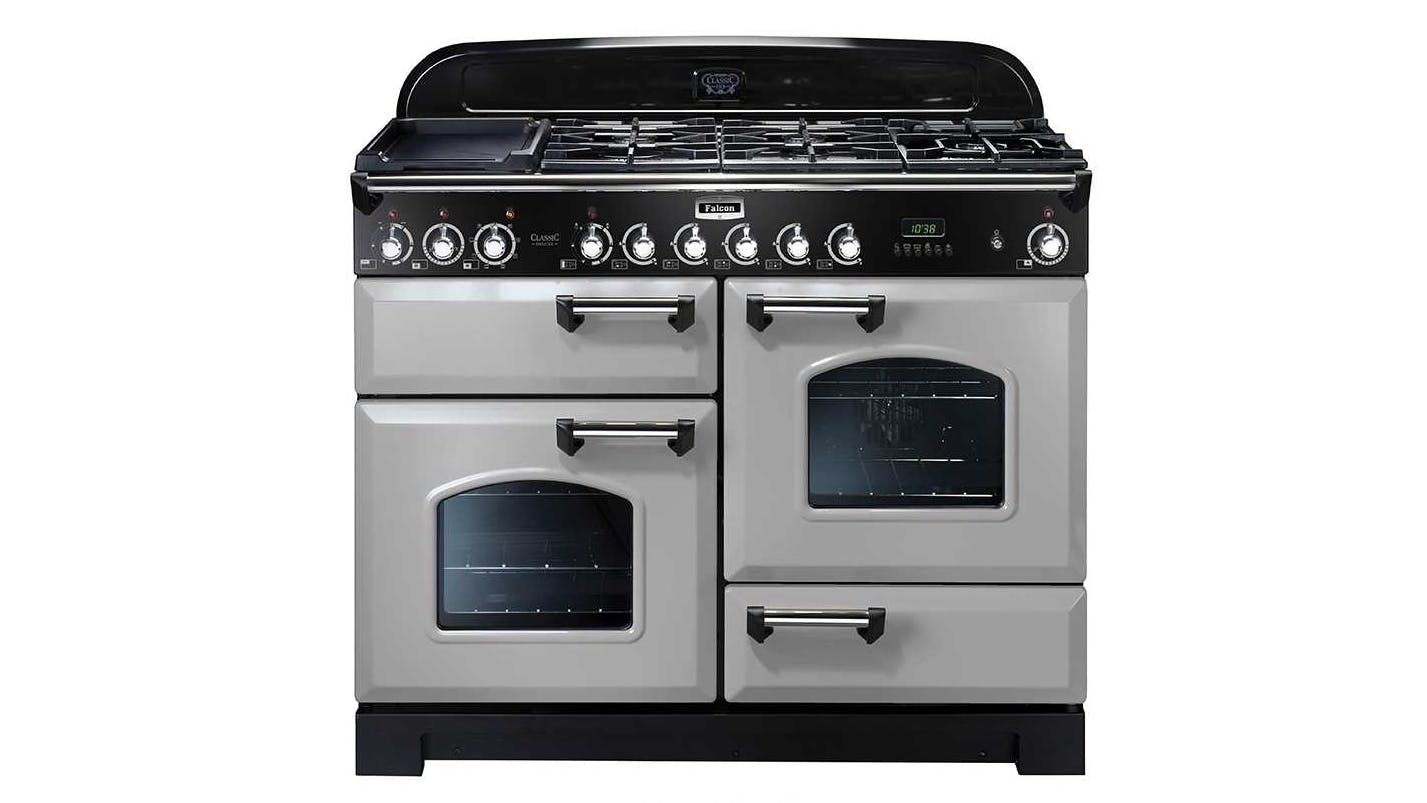 Falcon classic deluxe 110cm dual fuel freestanding cooker Classic home appliance films
