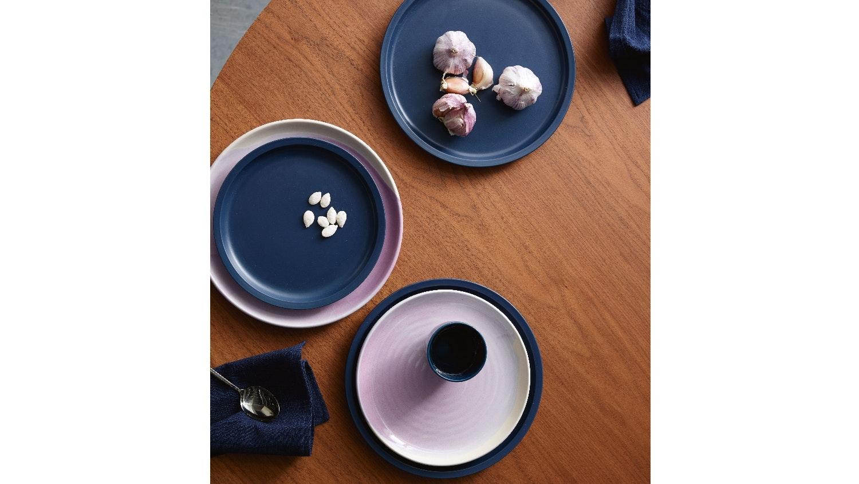 Robert Gordon Swatch Lilac Glaze Dinner Plate