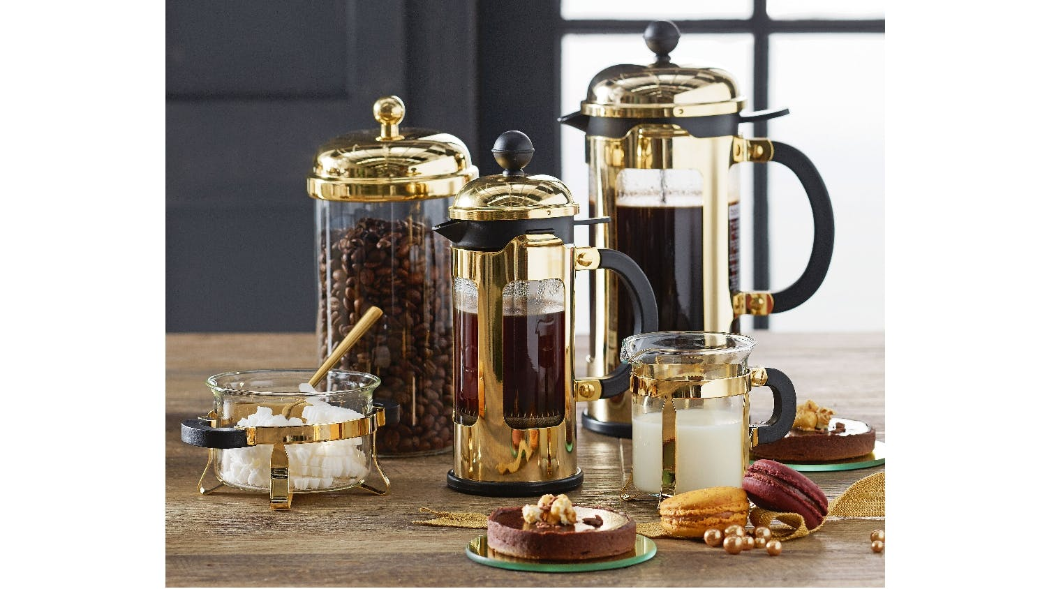 Gold French Press Coffee Maker : Bodum Chambord 3 Cup French Press Coffee Maker - Gold Domayne