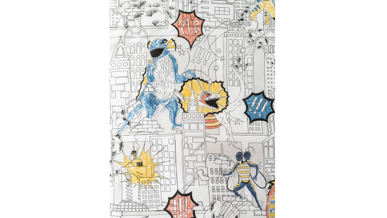 Hiccups Monstrous Quilt Cover Set