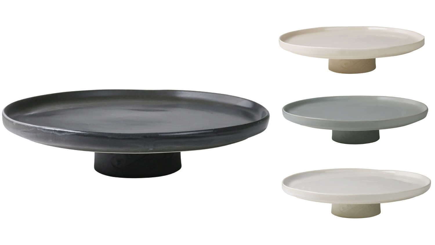 GT Signature Low Cake Plate with Stand