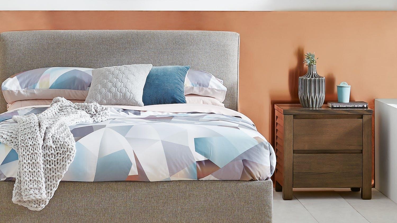 Plantation Bedroom Furniture Plantation Bedside Table Domayne