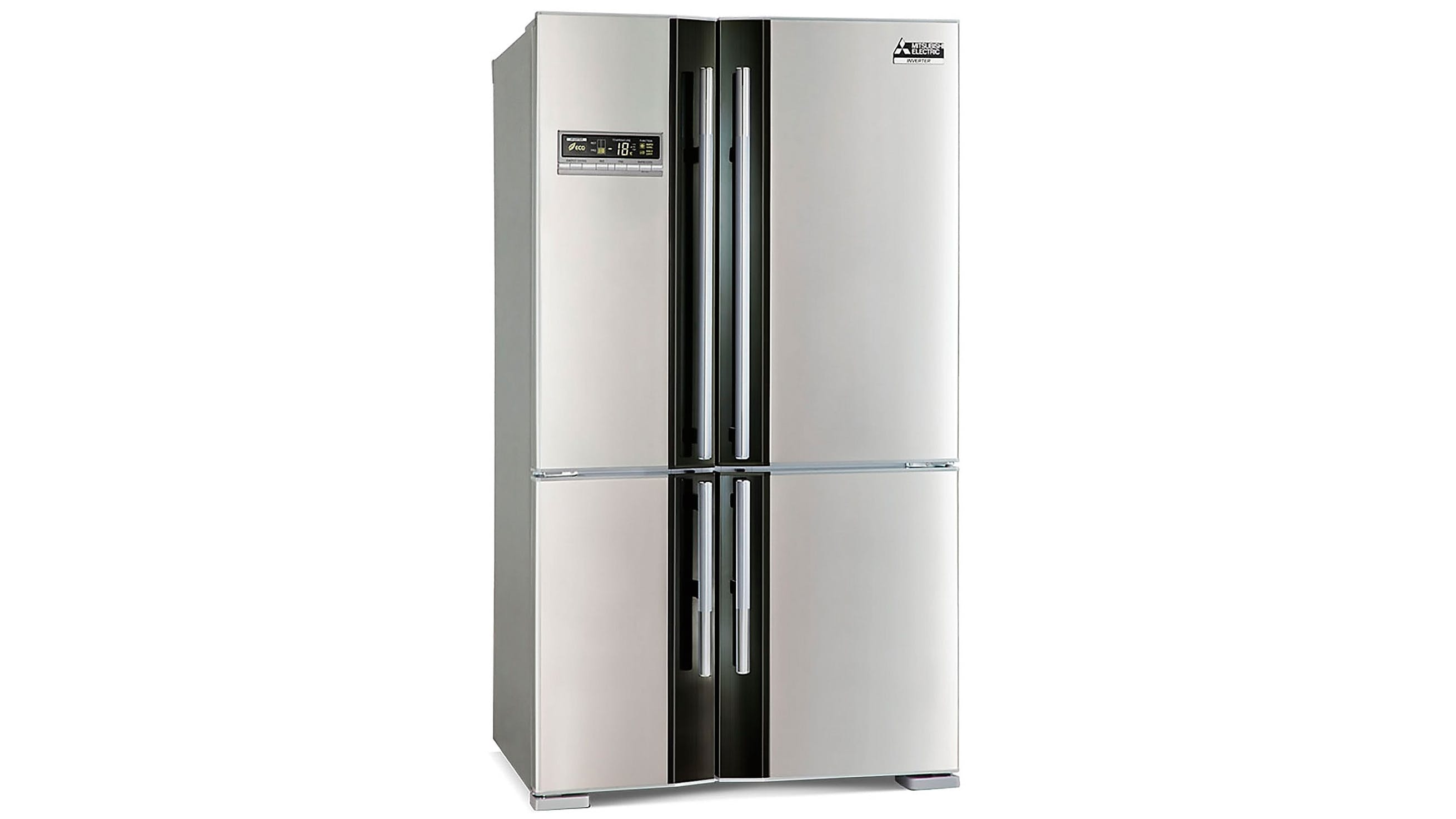 Mitsubishi Electric 650L L4 Mini Frech Door Fridge - Stainless Steel ...