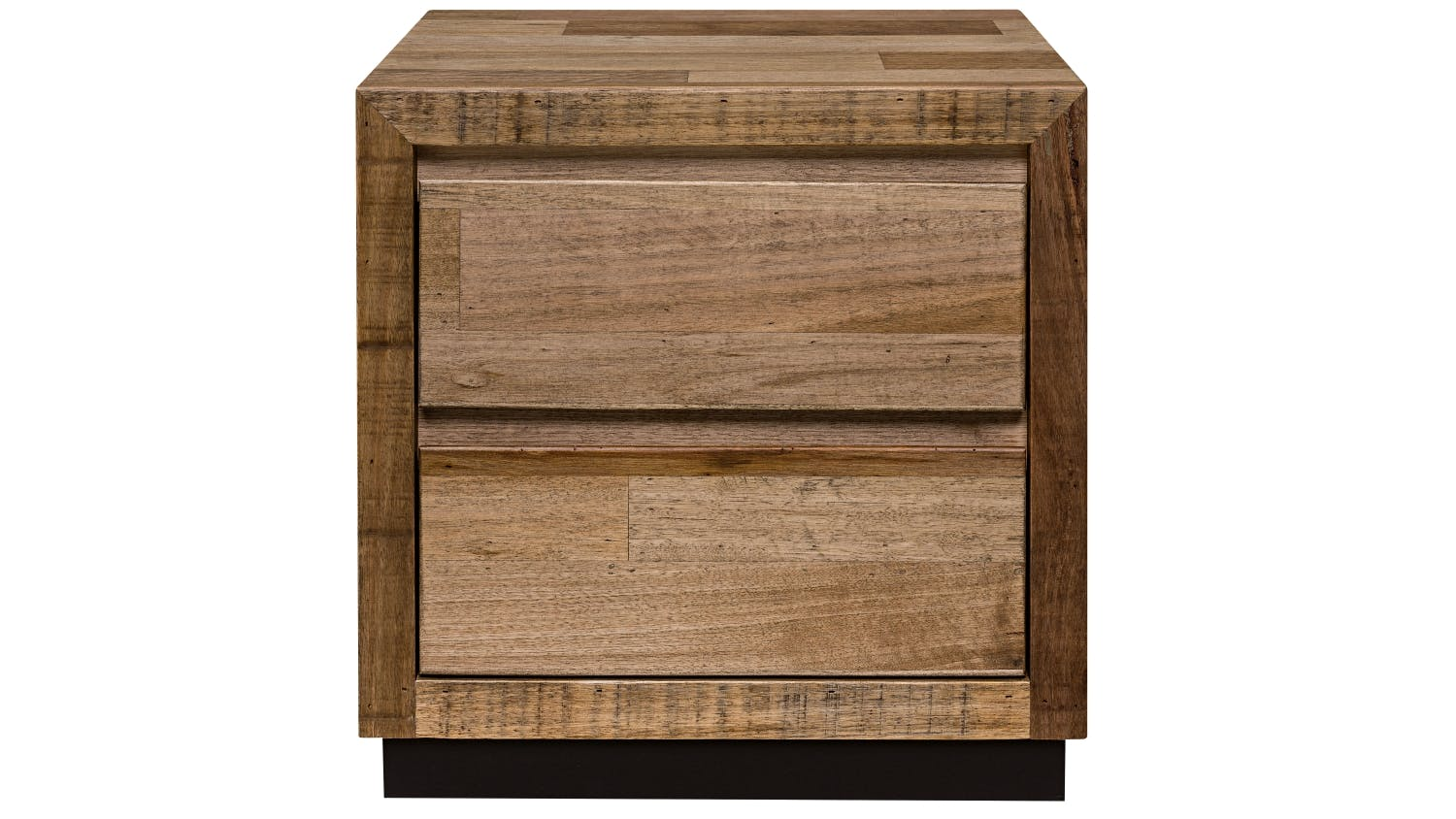 javier 2 drawer small bedside table domayne