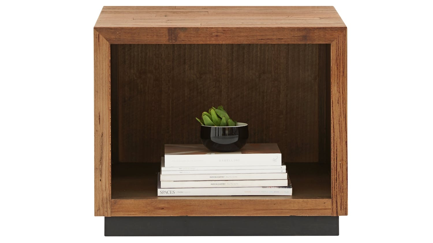 Javier open large bedside table domayne for When did table 52 open
