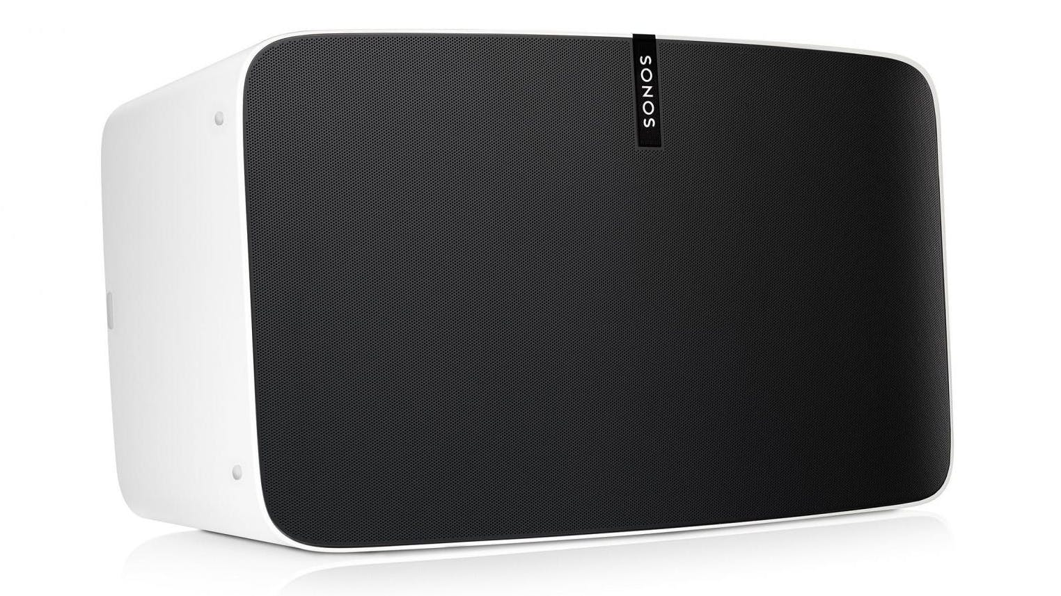 sonos play 5 wireless speaker white domayne. Black Bedroom Furniture Sets. Home Design Ideas