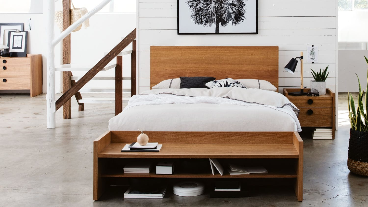 Bench By Bed: Gallery Bed Bench