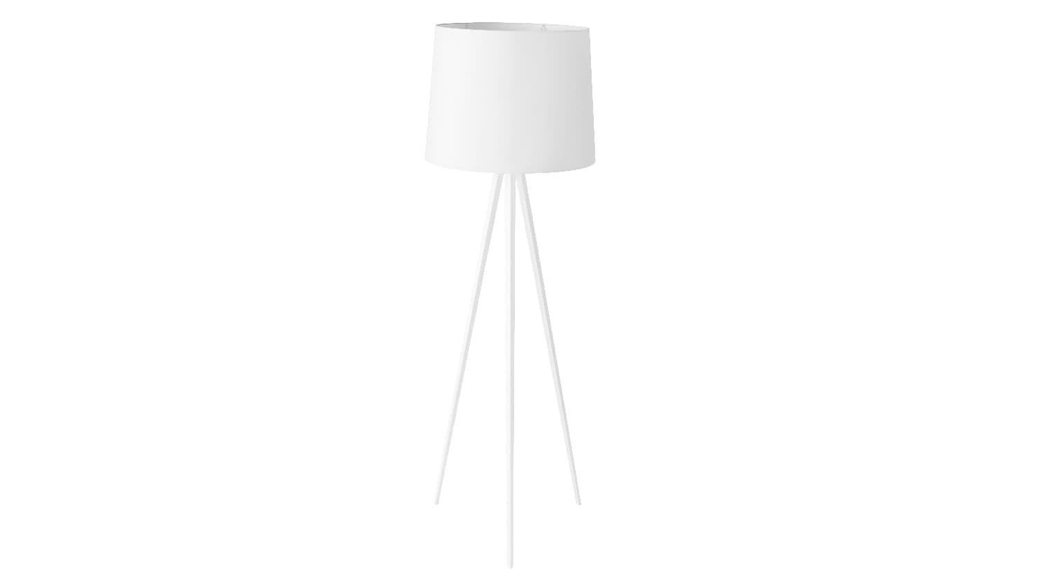 white switched itm floor plaster lamp sentinel astro limina uplighter