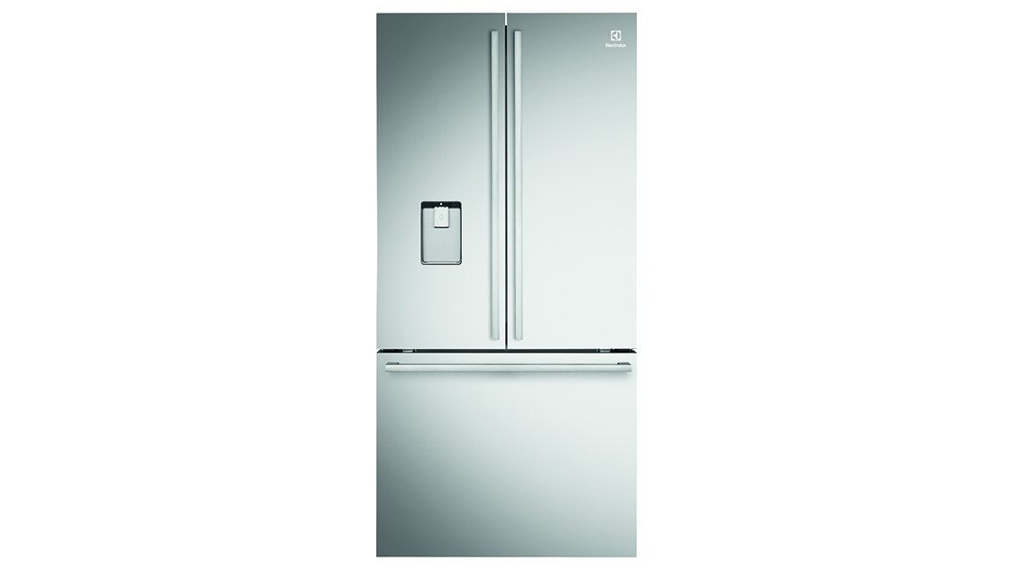 electrolux freshzone 524l french door fridge stainless steel