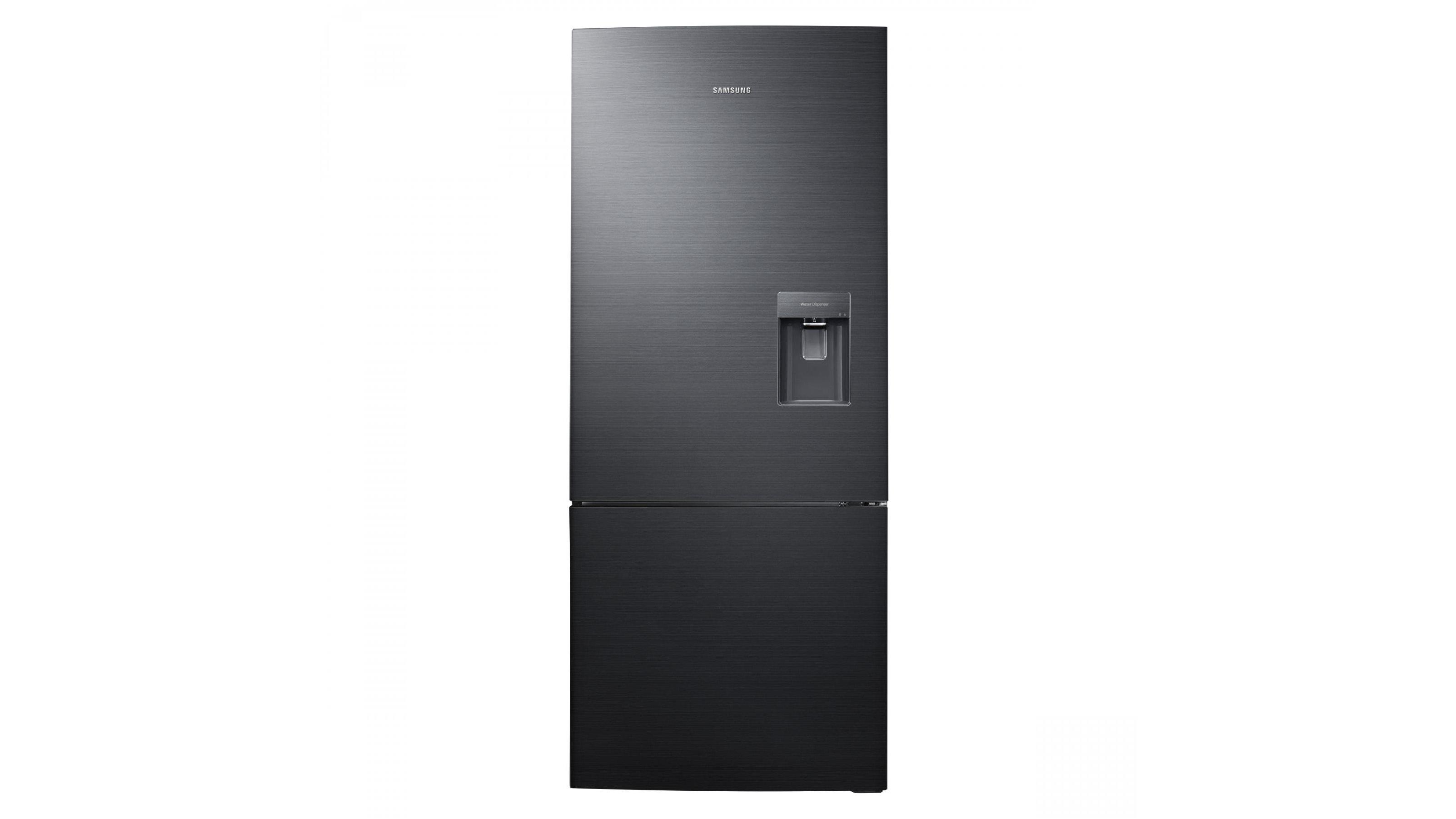 Samsung 455l Bottom Mount Fridge Metallic Black Domayne
