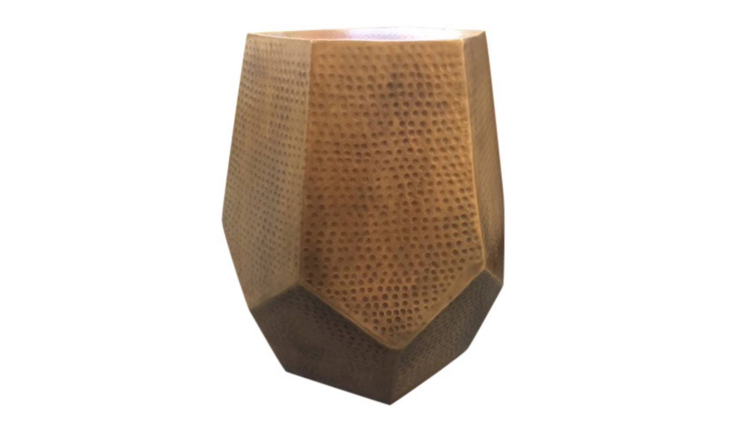 Anand Hammered Stool